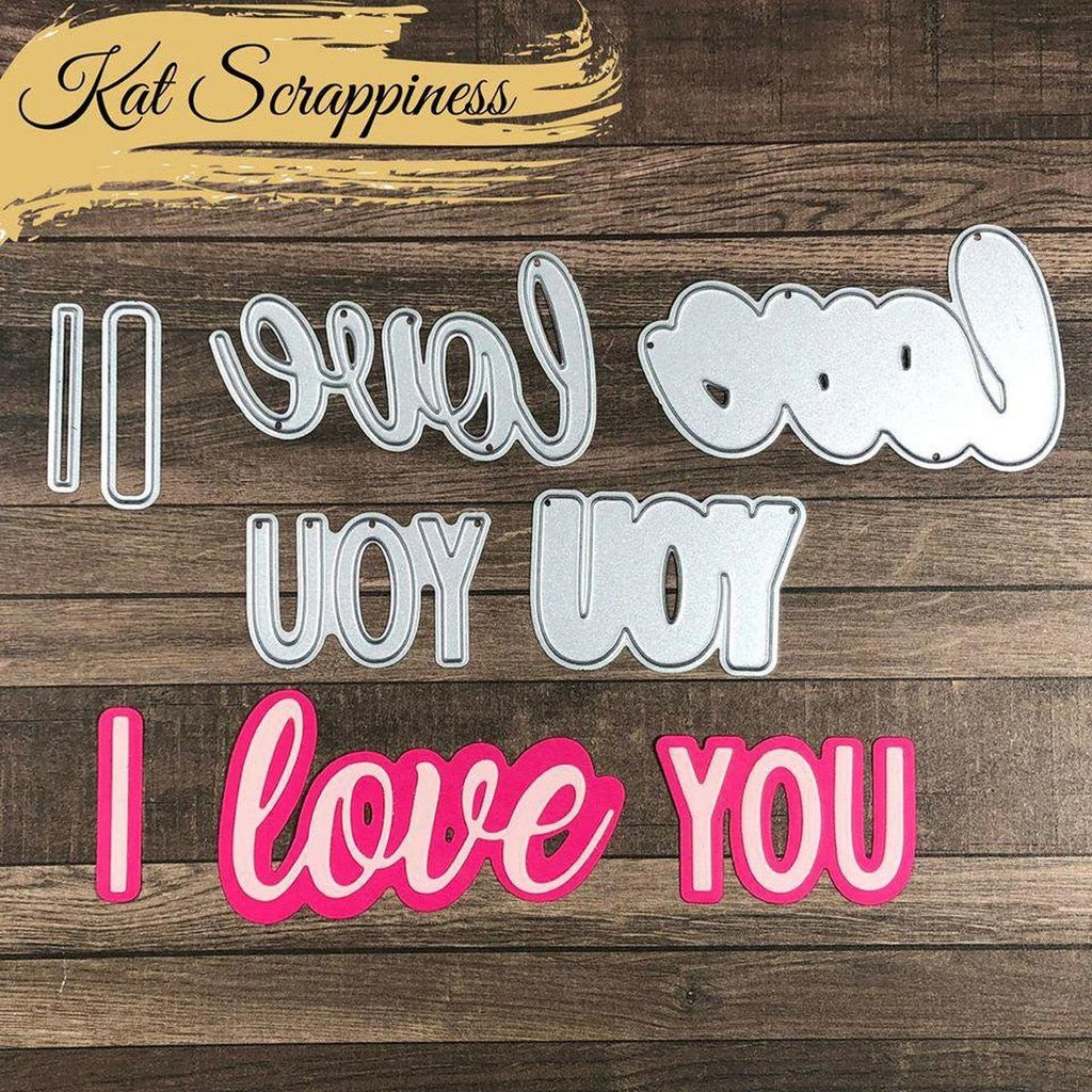 I Love You Shadow Die by Kat Scrappiness