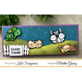 Embossed Edge Nesting Slimline Dies by Kat Scrappiness - Kat Scrappiness