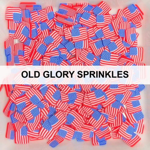 Old Glory Sprinkles by Kat Scrappiness