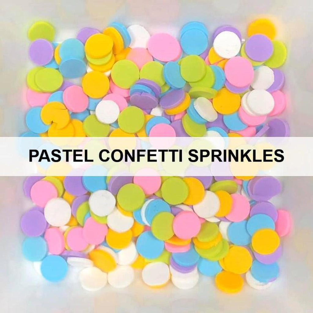 Pastel/Spring Confetti Sprinkles by Kat Scrappiness - Kat Scrappiness
