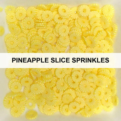 Pineapple Slice Sprinkles by Kat Scrappiness - Kat Scrappiness