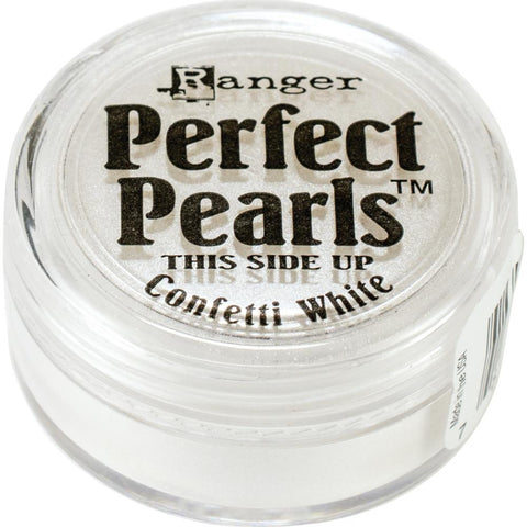 Perfect Pearls Pigment Powder .25oz - Confetti White