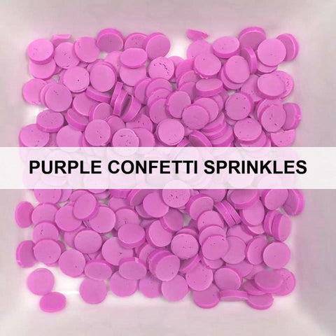 Purple Confetti Sprinkles by Kat Scrappiness - Kat Scrappiness