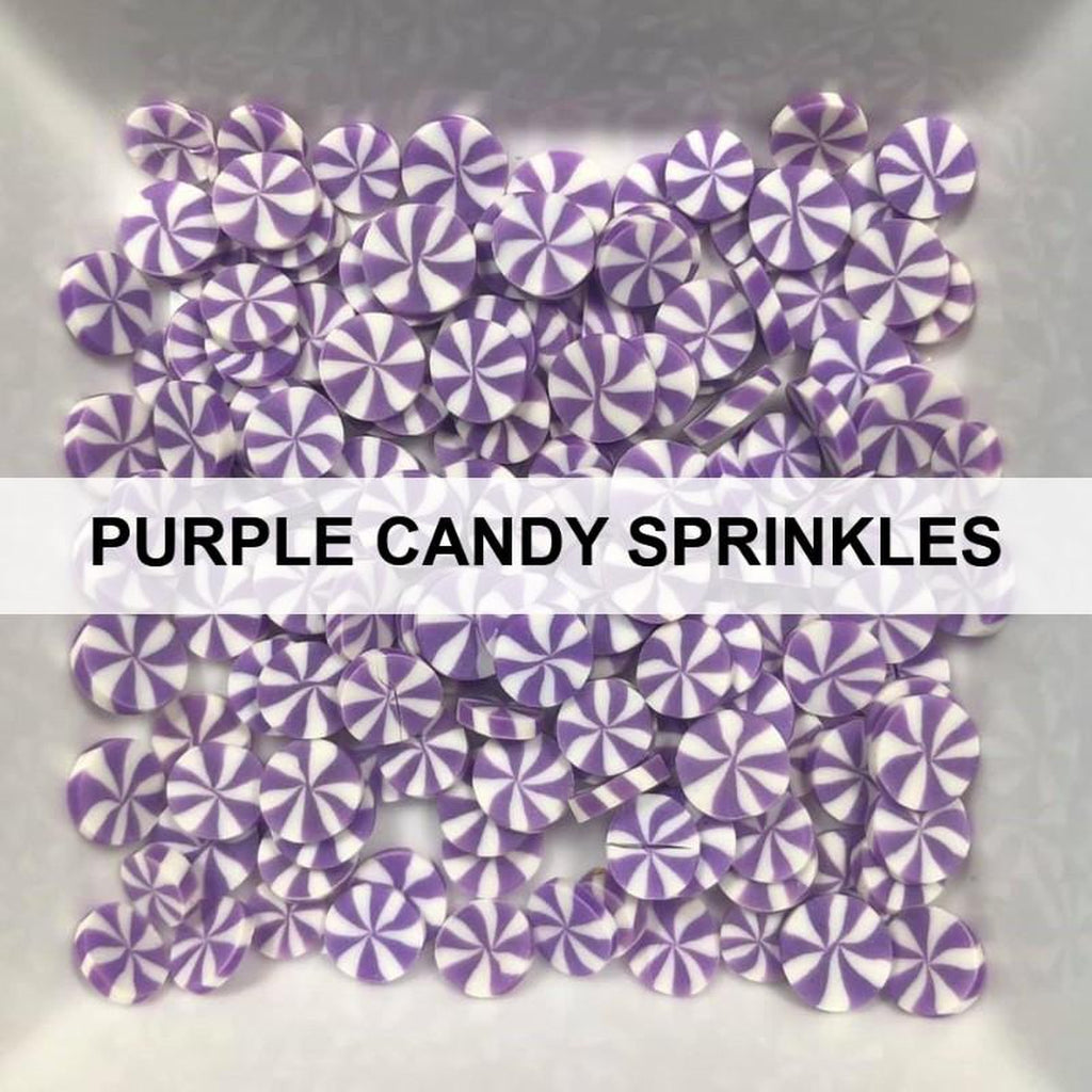 Purple Candy Sprinkles by Kat Scrappiness - Kat Scrappiness