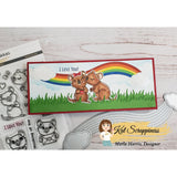 Slimline Rainbow Die Set by Kat Scrappiness