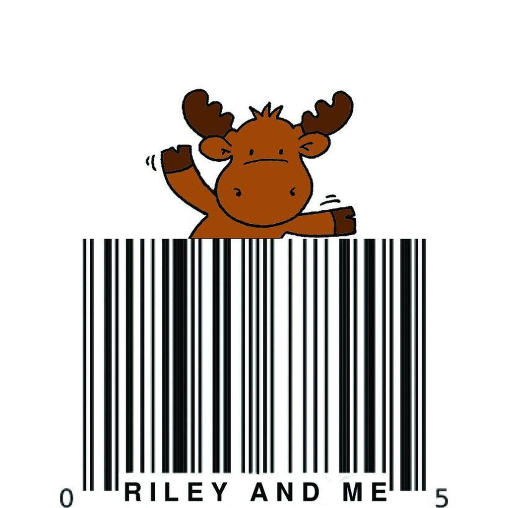 Barcode Riley Cling Stamp by Riley & Co - Kat Scrappiness