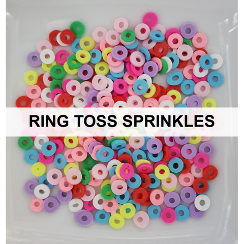 Ring Toss Sprinkles by Kat Scrappiness
