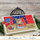 Summer Quokka Stamp Set by Kat Scrappiness