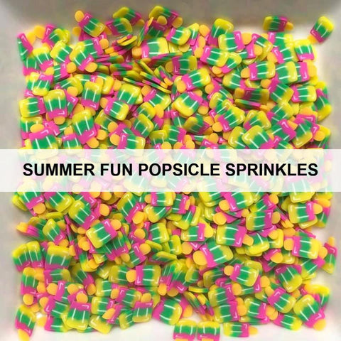 Summer Fun Popsicle Sprinkles by Kat Scrappiness