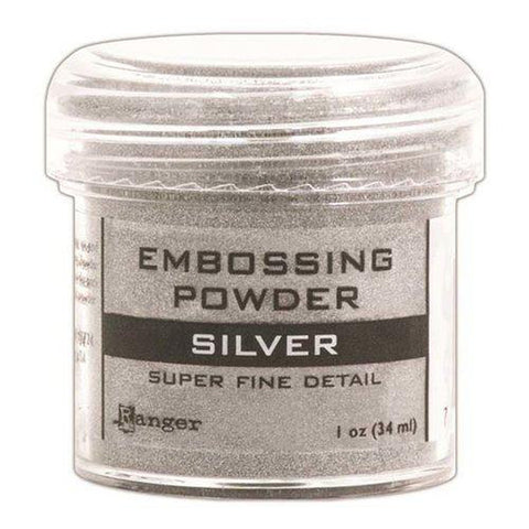 Super Fine Silver Embossing Powder by Ranger