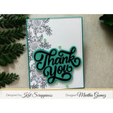 Thank You w/Shadow Die by Kat Scrappiness - Kat Scrappiness