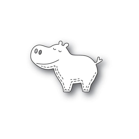 Whittle Happy Hippo Craft Die by Poppy Stamps