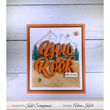You Rock w/Shadow Die by Kat Scrappiness - Kat Scrappiness