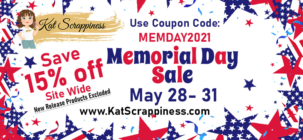 Kat Scrappiness Mother's Day Sale!