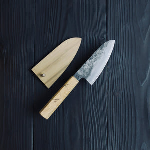 Small Veg Cleaver 125mm / Aogami super - Soft steel