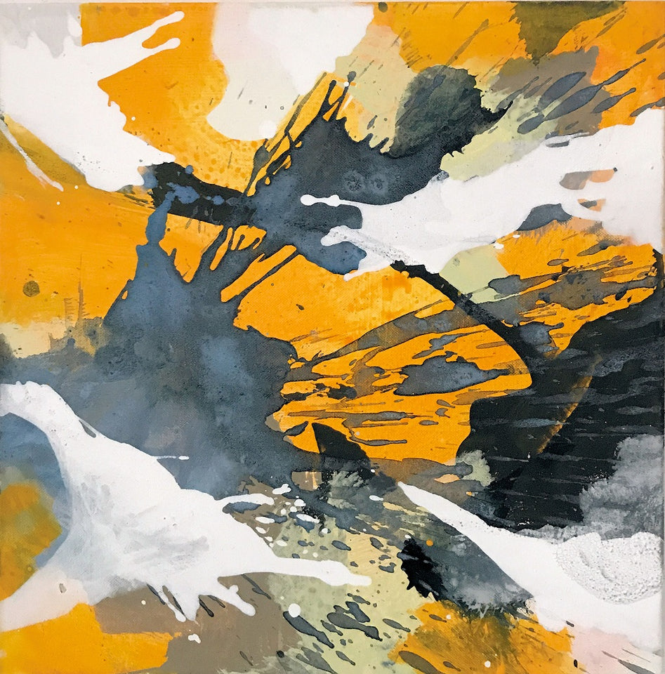 Anja Stemmer | Abstract Art - picture shop for modern paintings online. Contemporary Artist Anja Stemmer selling artwork with abstract expressionist aesthetic.