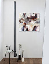 "Load image into Gallery viewer, Abstract expressionist art in a small appartement - modern artwork ""Loft III"". A modern acrylic painting by abstract artist Anja Stemmer. Visit my Picture Shop for affordable art online: Buy abstract paintings, modern acrylic paintings and works of abstract art on canvas or paper online. My high quality abstract art designs are hand painted."