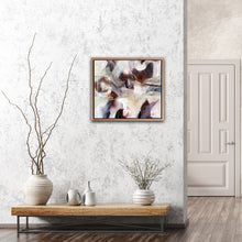 "Load image into Gallery viewer, Abstract expressionist art in nordic interior design style - modern artwork ""Loft III"". A modern acrylic painting by abstract artist Anja Stemmer. Visit my Picture Shop for affordable art online: Buy abstract paintings, modern acrylic paintings and works of abstract art on canvas or paper online. My high quality abstract art designs are hand painted."