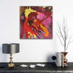 "Abstract expressionist art and modern interior design accessories - modern artwork. ""Upsurge"" A modern acrylic painting by abstract artist Anja Stemmer. Visit my Picture Shop for affordable art online: Buy abstract paintings, modern acrylic paintings and works of abstract art on canvas or paper online. My high quality abstract art designs are hand painted."