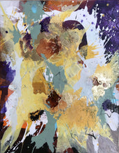 "Load image into Gallery viewer, Abstract expressionist art - modern artwork ""Harlequin"". A modern acrylic painting by abstract artist Anja Stemmer. Visit my Picture Shop for affordable art online: Buy abstract paintings, modern acrylic paintings and works of abstract art on canvas or paper online. My high quality abstract art designs are hand painted."