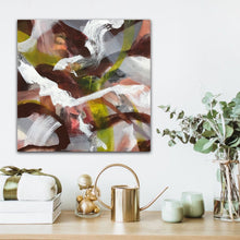 "Load image into Gallery viewer, Abstract expressionist art with bathroom decor accessories - modern artwork ""Unseen Landscape I"". A modern acrylic painting by abstract artist Anja Stemmer. Visit my Picture Shop for affordable art online: Buy abstract paintings, modern acrylic paintings and works of abstract art on canvas or paper online. My high quality abstract art designs are hand painted."