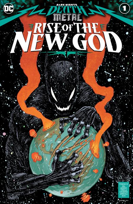 DARK NIGHTS DEATH METAL RISE OF THE NEW GOD #1