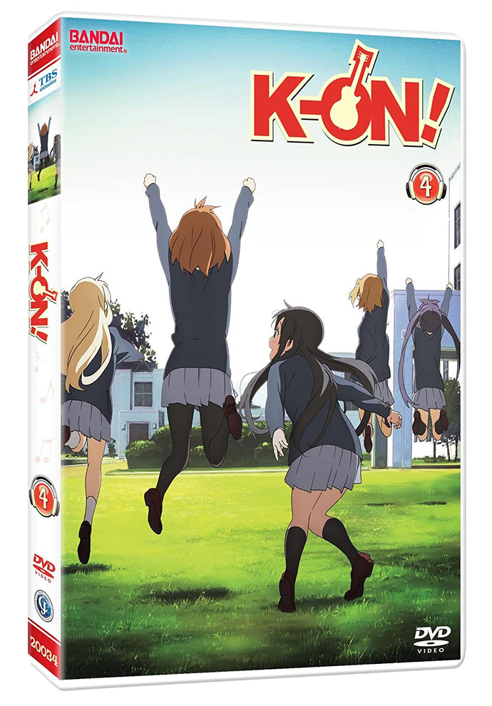 K-ON! VOL 4 DVD
