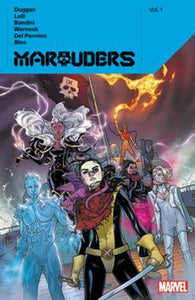 MARAUDERS BY GERRY DUGGAN TP VOL 01 - slightly damaged cover - price reduced