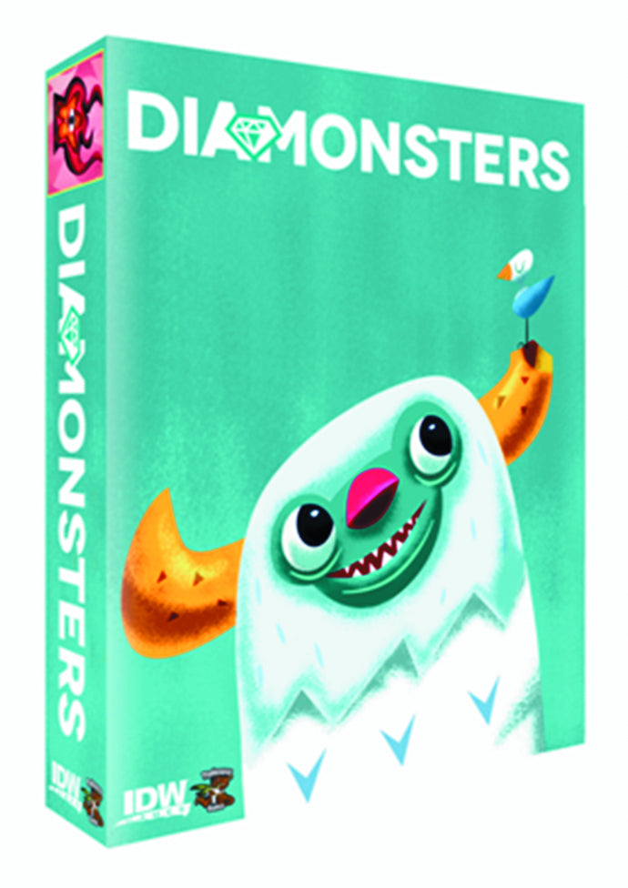 DIAMONSTERS CARD GAME (C: 0-1-2)