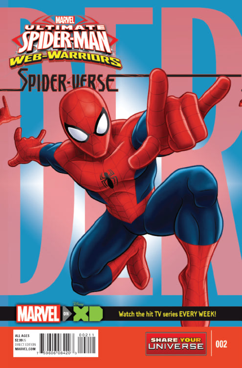 MARVEL UNIVERSE ULT SPIDER-MAN SPIDER-VERSE #2 (OF 4)
