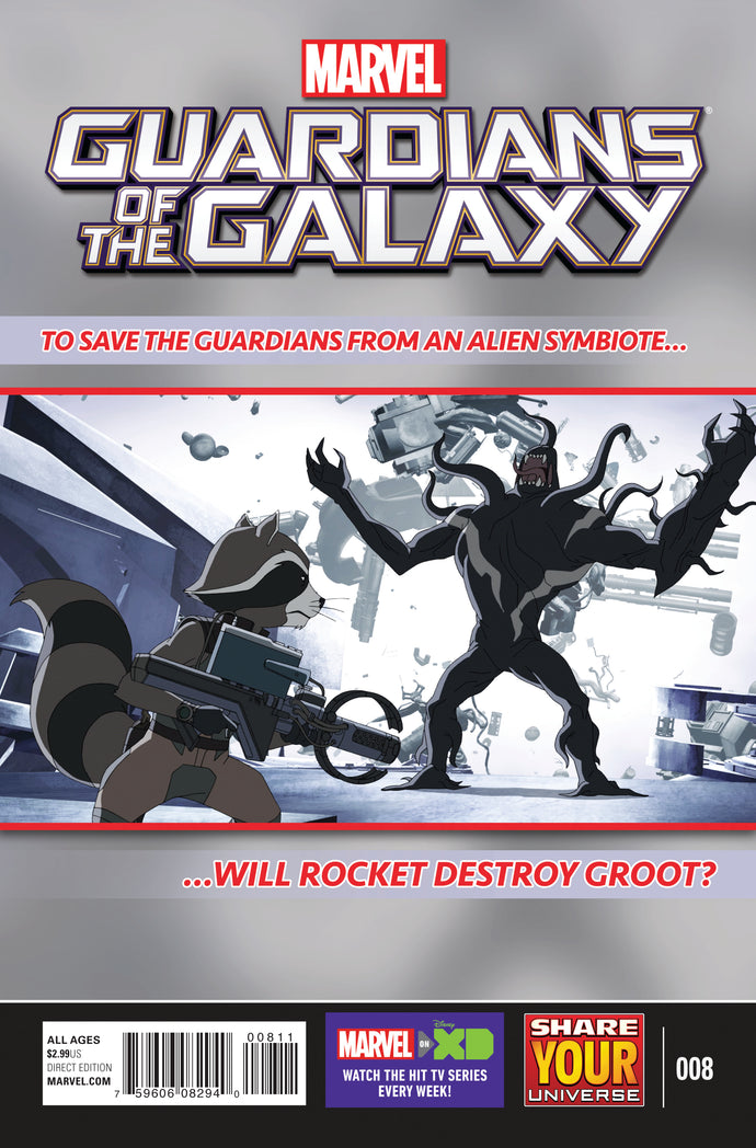 MARVEL UNIVERSE GUARDIANS OF GALAXY #8
