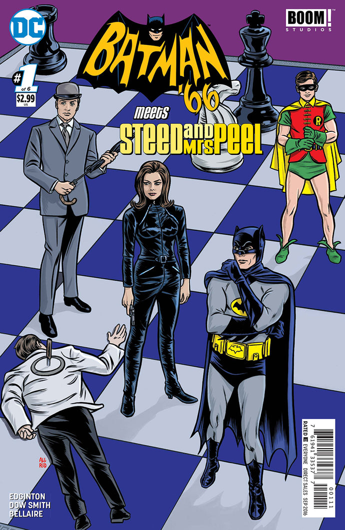 BATMAN 66 MEETS STEED AND MRS PEEL #1 (OF 6)
