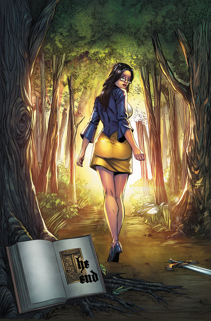 GFT GRIMM FAIRY TALES #125 A CVR SPAY (MR)