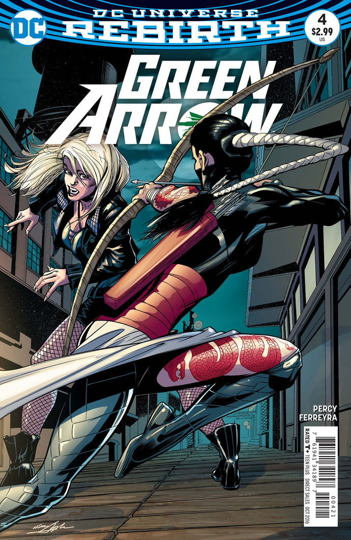 GREEN ARROW #4 VAR ED
