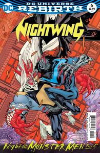NIGHTWING #6 (MONSTER MEN)