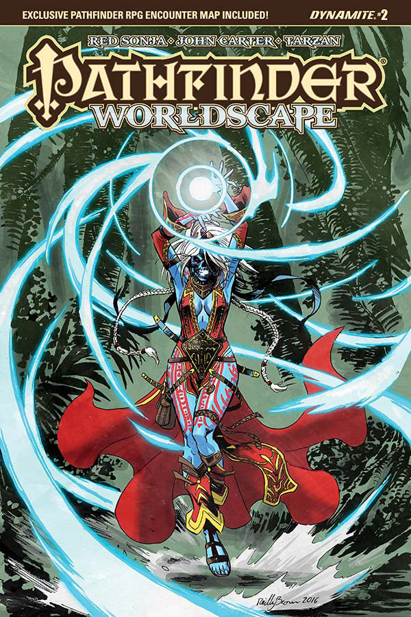 PATHFINDER WORLDSCAPE #2 (OF 6) CVR A BROWN