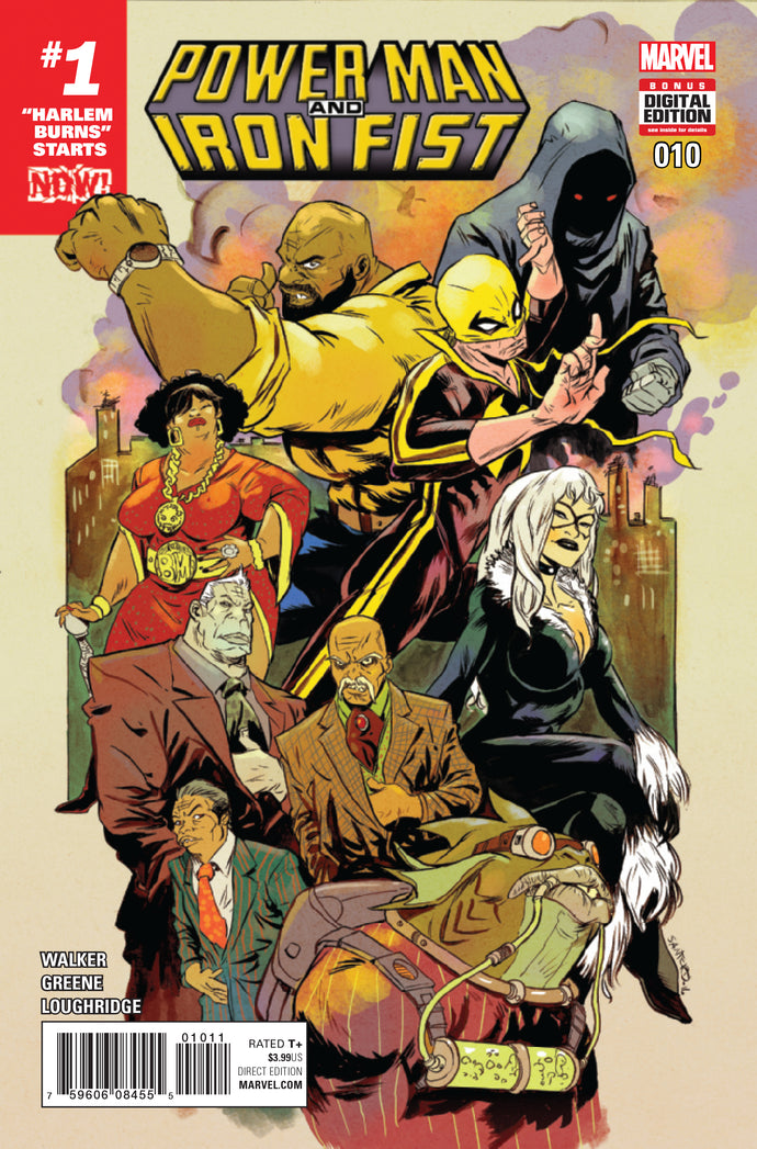 POWER MAN AND IRON FIST #10 NOW