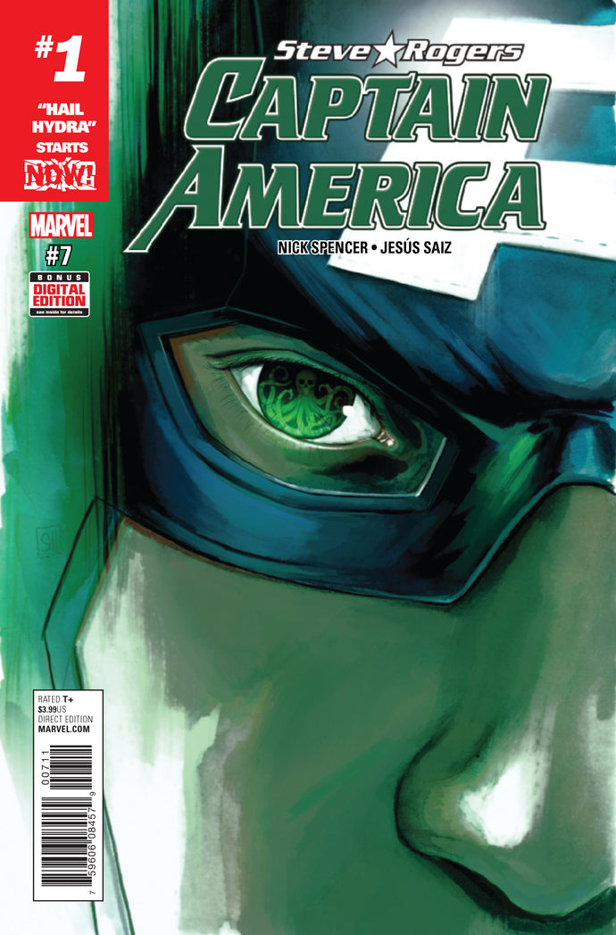 CAPTAIN AMERICA STEVE ROGERS #7 NOW