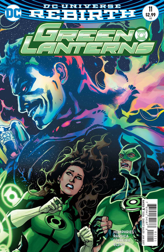GREEN LANTERNS #12 VAR ED