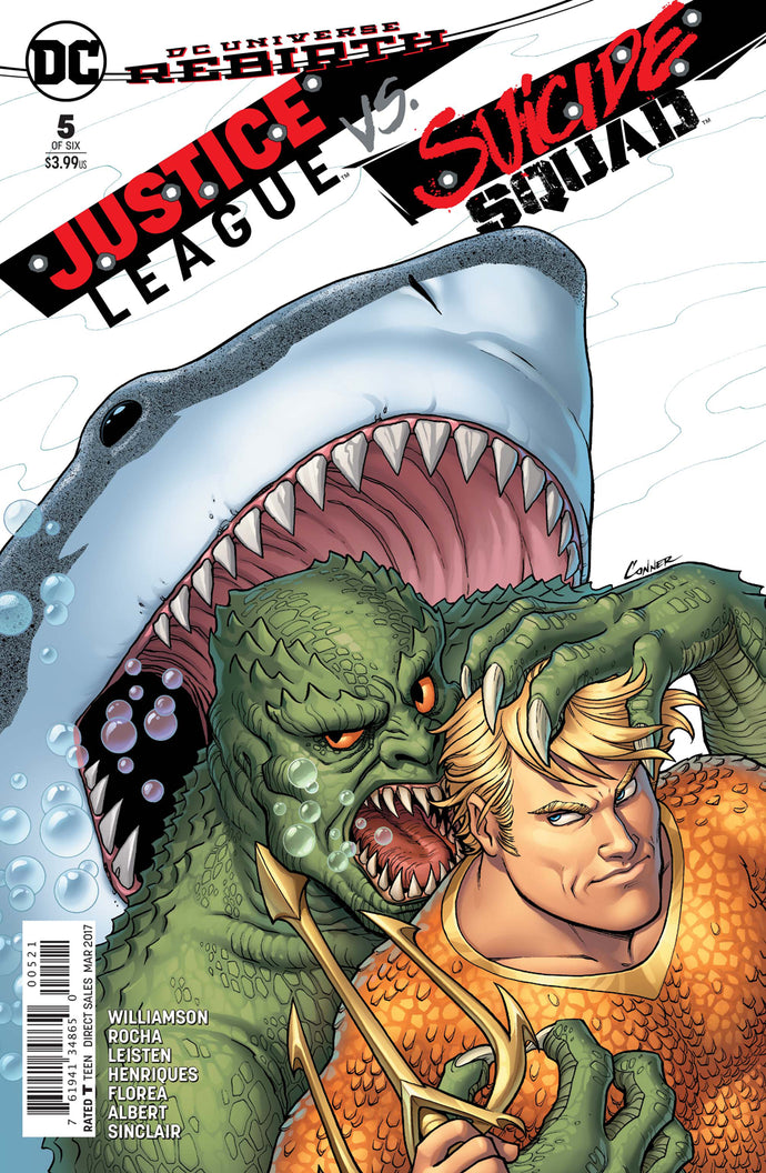 JUSTICE LEAGUE SUICIDE SQUAD #5 (OF 6) CONNER VAR ED
