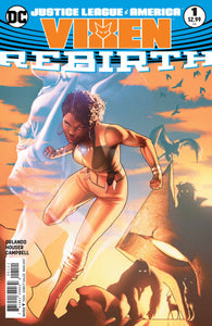 JUSTICE LEAGUE OF AMERICA VIXEN REBIRTH #1 VAR ED