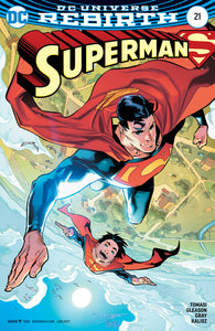 SUPERMAN #21 VAR ED