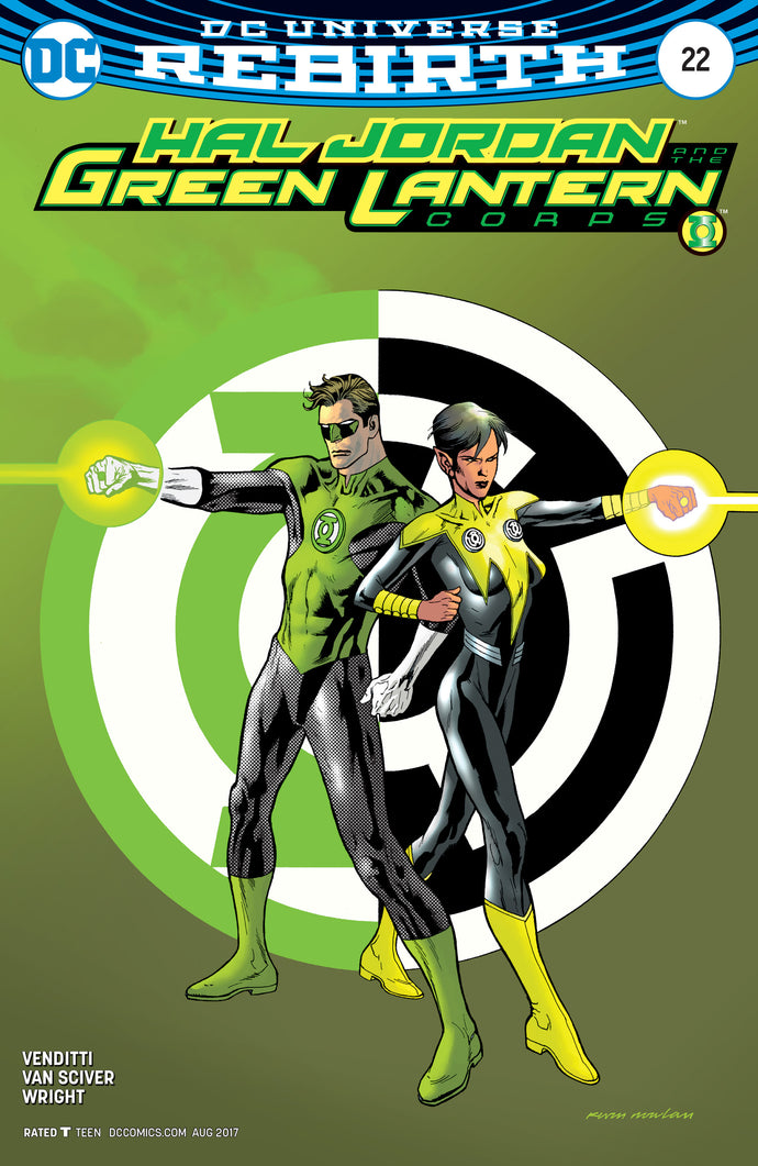 HAL JORDAN AND THE GREEN LANTERN CORPS #22 VAR ED