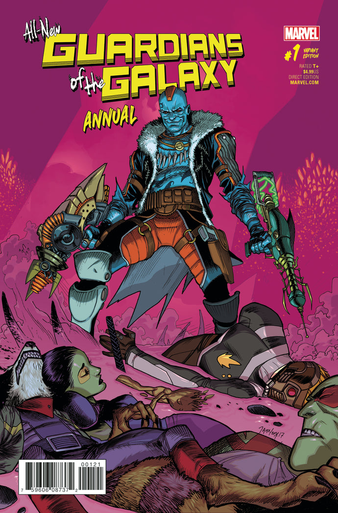 ALL NEW GUARDIANS OF GALAXY ANNUAL #1 MORA VAR SE