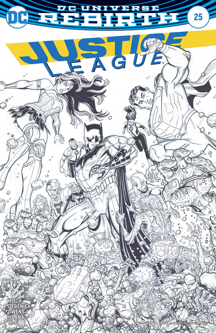 JUSTICE LEAGUE #25 VAR ED