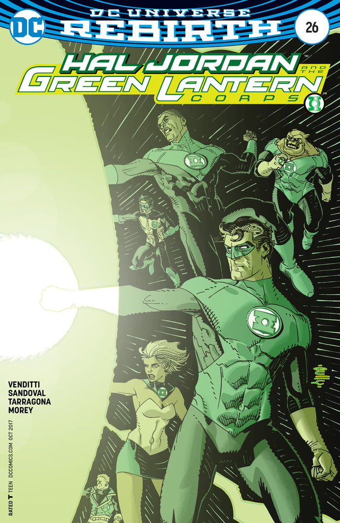 HAL JORDAN AND THE GREEN LANTERN CORPS #26 VAR ED