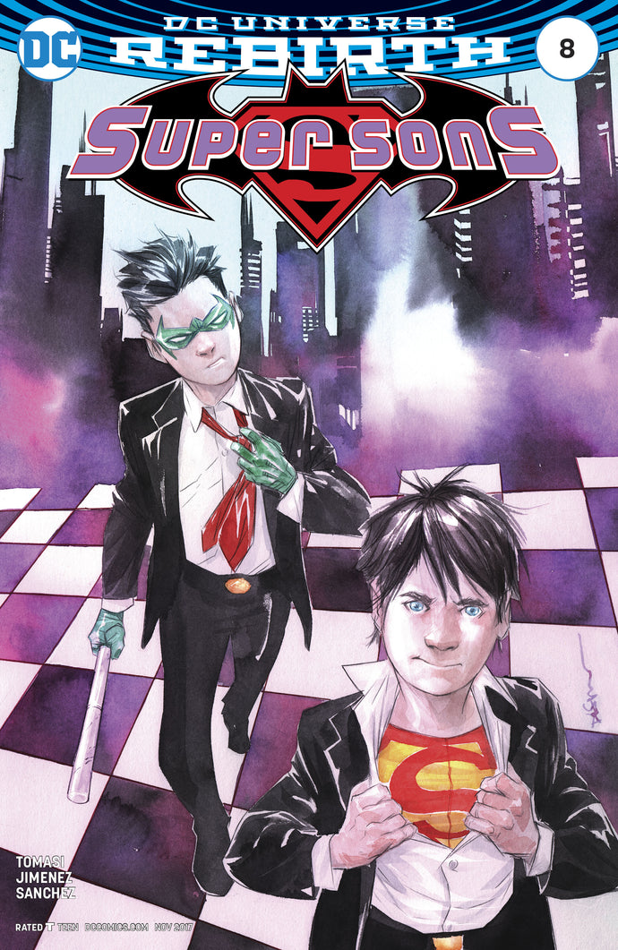 SUPER SONS #8 VAR ED