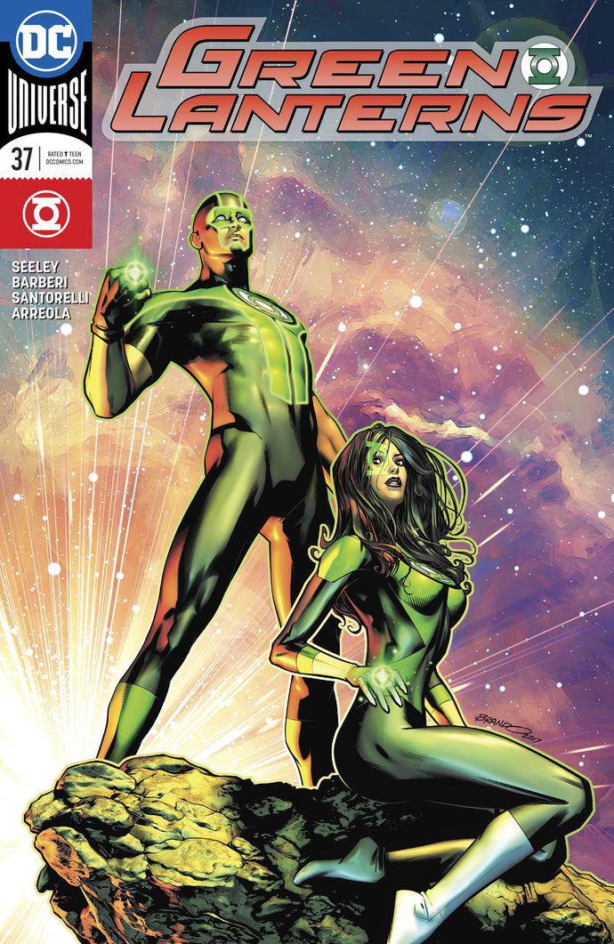 GREEN LANTERNS #37 VAR ED