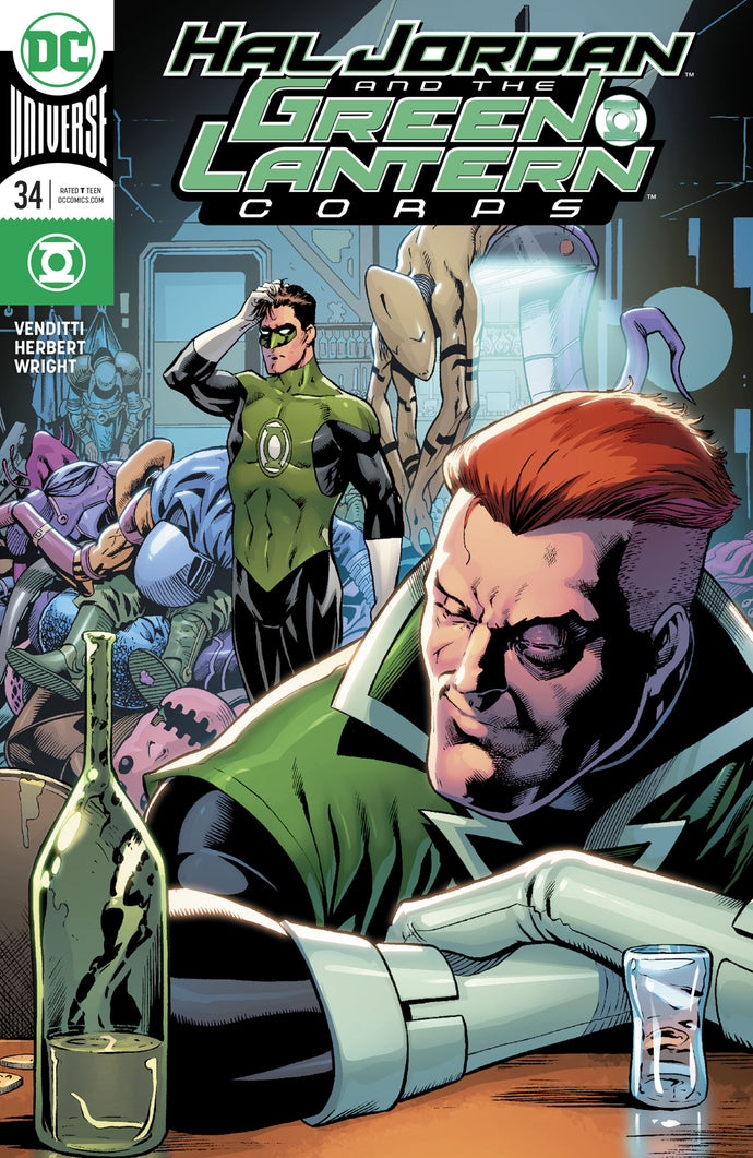 HAL JORDAN AND THE GREEN LANTERN CORPS #34 VAR ED