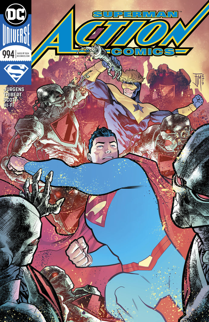 ACTION COMICS #994 VAR ED